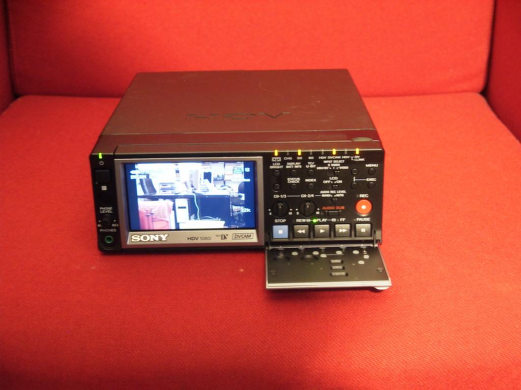 sony hvr m10e deck mini dv and dvcam player recorder 884667854103 ebay rh ebay com Sony HD Camera Sony Handycam Battery